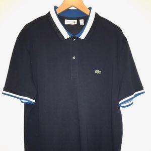 Lacoste Slim Fit Polo Tri Color Color Size XL